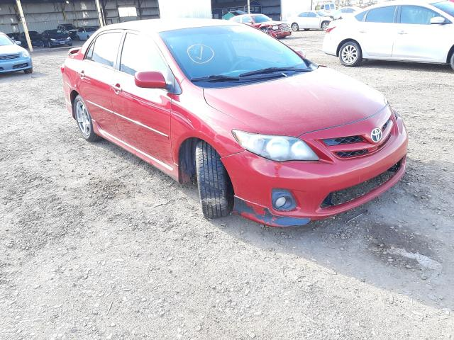 Salvage cars for sale from Copart Phoenix, AZ: 2011 Toyota Corolla BA
