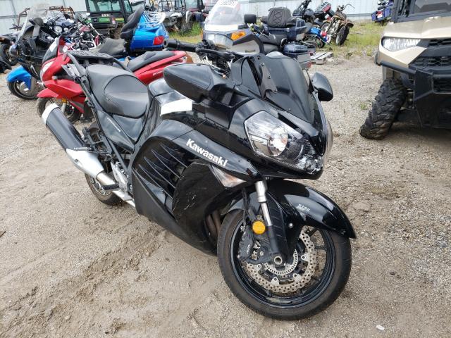 Kawasaki ZG1400 C salvage cars for sale: 2012 Kawasaki ZG1400 C