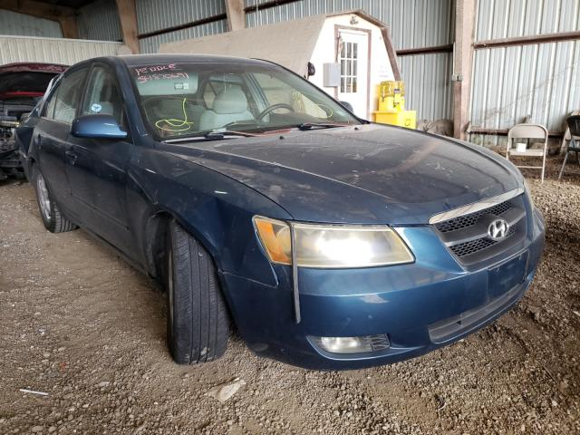 Salvage cars for sale from Copart Houston, TX: 2006 Hyundai Sonata GLS