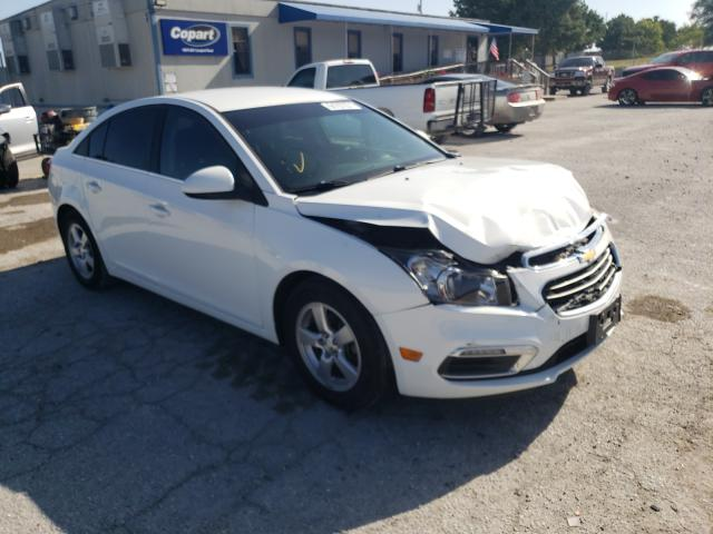 Salvage cars for sale from Copart Prairie Grove, AR: 2015 Chevrolet Cruze LT
