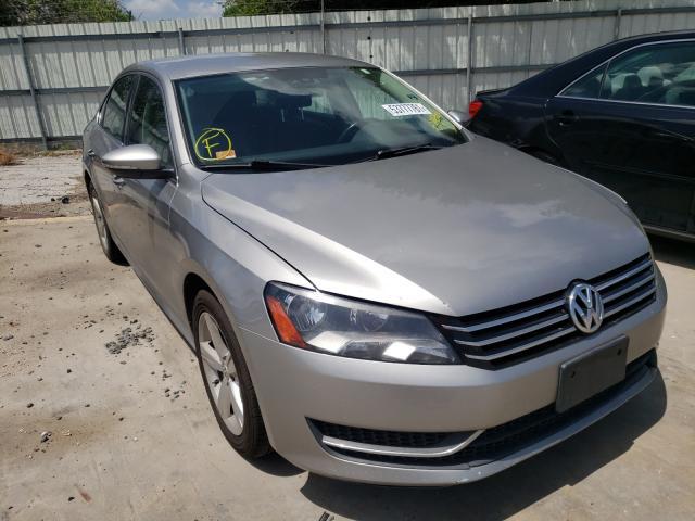 Salvage cars for sale from Copart Corpus Christi, TX: 2012 Volkswagen Passat SE