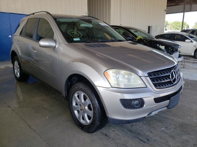 Vehiculos salvage en venta de Copart Homestead, FL: 2006 Mercedes-Benz ML 350