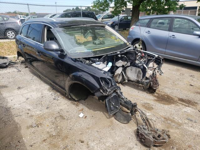 Salvage cars for sale from Copart Wheeling, IL: 2012 Audi Q7 Premium
