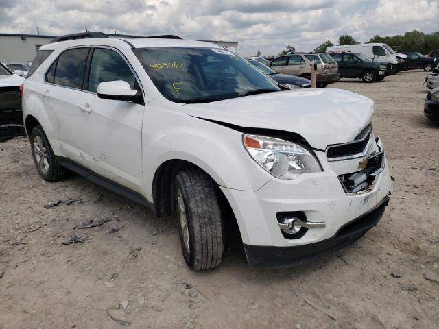 Salvage cars for sale from Copart Kansas City, KS: 2015 Chevrolet Equinox LT