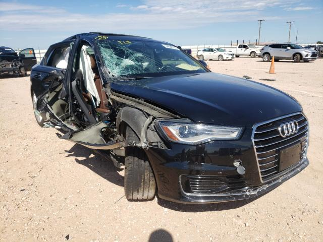 Salvage cars for sale from Copart Andrews, TX: 2016 Audi A6 Premium