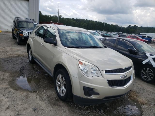 Vehiculos salvage en venta de Copart Savannah, GA: 2014 Chevrolet Equinox LS