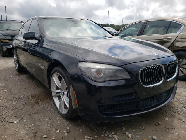 Salvage cars for sale from Copart Billerica, MA: 2012 BMW 750 I