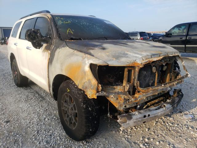 Salvage cars for sale from Copart Haslet, TX: 2016 Toyota Sequoia PL