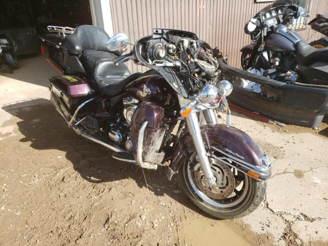Salvage cars for sale from Copart Billings, MT: 2007 Harley-Davidson Flhtcui