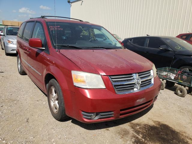 Salvage cars for sale from Copart Houston, TX: 2010 Dodge Grand Caravan
