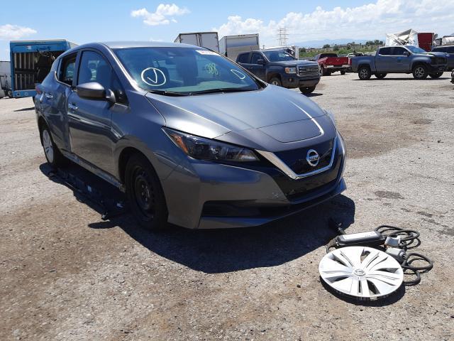 Salvage cars for sale at Tucson, AZ auction: 2020 Nissan Leaf S
