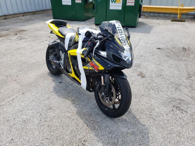 Salvage motorcycles for sale at Dyer, IN auction: 2006 Suzuki GSX-R750