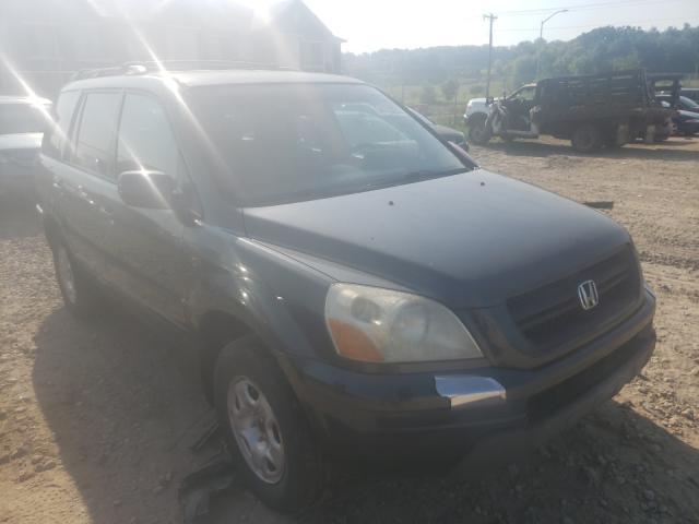 Vehiculos salvage en venta de Copart Madison, WI: 2003 Honda Pilot EXL