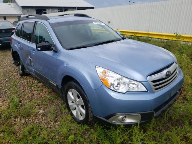 Salvage cars for sale from Copart Madison, WI: 2010 Subaru Outback 2