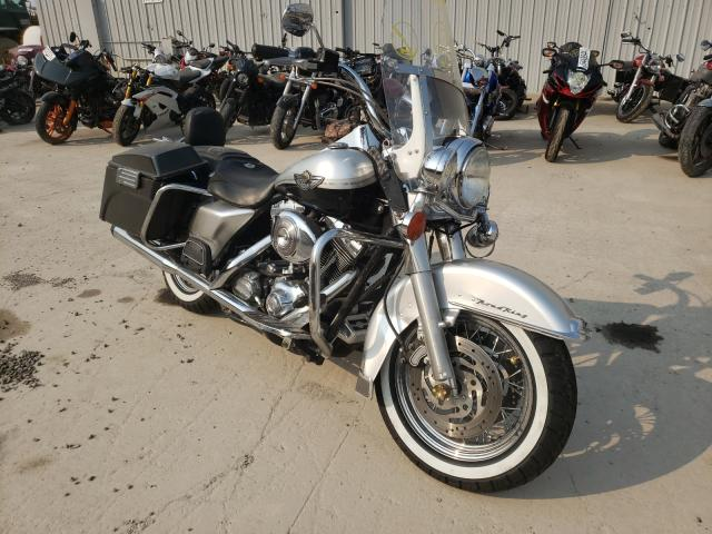 Salvage motorcycles for sale at Reno, NV auction: 2003 Harley-Davidson Flhrci ANN
