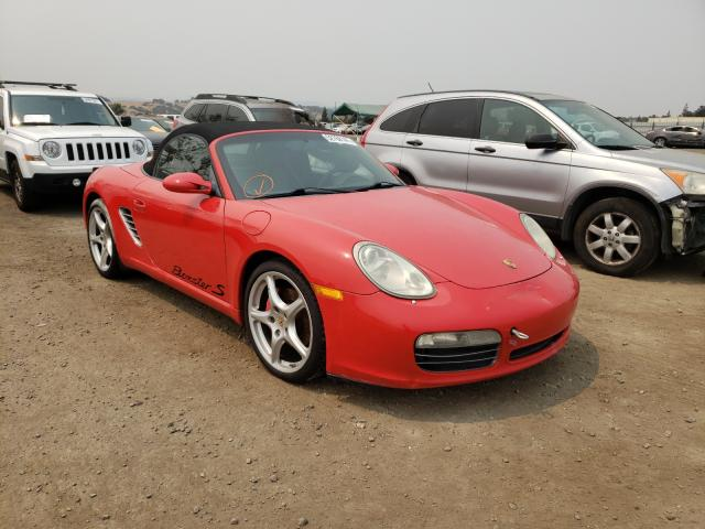 Salvage cars for sale from Copart San Martin, CA: 2008 Porsche Boxster S