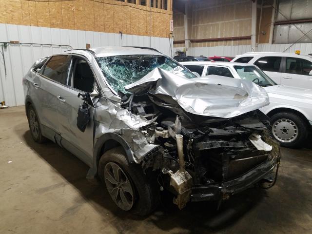 Salvage cars for sale at Anchorage, AK auction: 2015 Hyundai Santa FE G