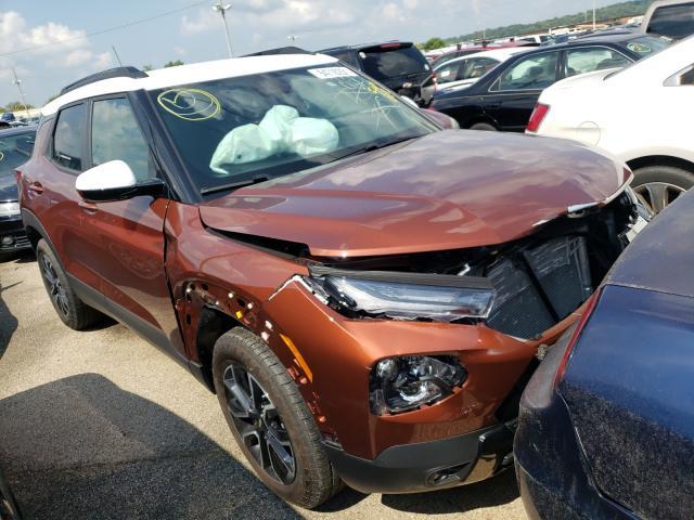 Vehiculos salvage en venta de Copart Moraine, OH: 2021 Chevrolet Trailblazer