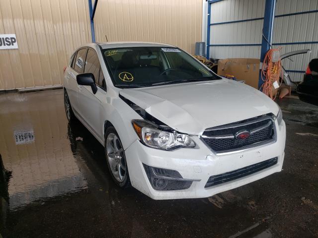 Subaru Impreza salvage cars for sale: 2016 Subaru Impreza