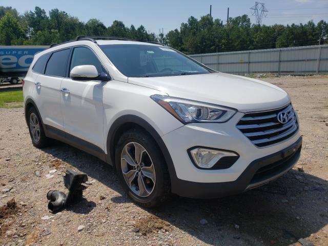 Salvage cars for sale at Charles City, VA auction: 2013 Hyundai Santa FE G