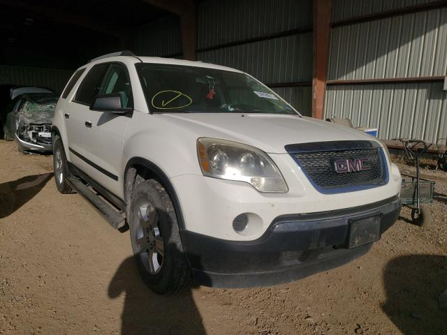 Salvage cars for sale from Copart Houston, TX: 2011 GMC Acadia SLE