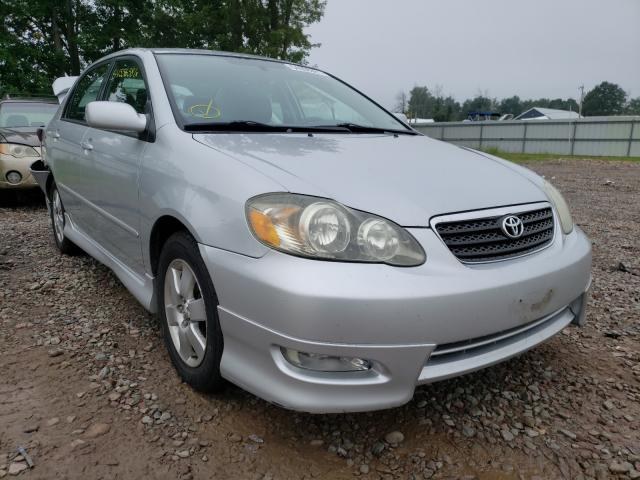 Salvage cars for sale from Copart Central Square, NY: 2005 Toyota Corolla CE