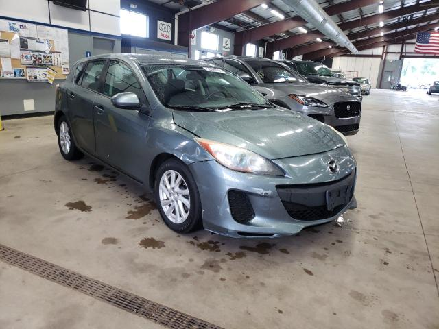 Salvage cars for sale from Copart East Granby, CT: 2012 Mazda 3 I