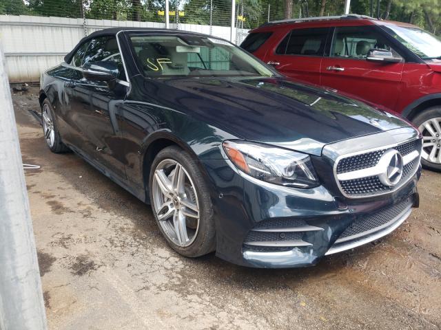 Vehiculos salvage en venta de Copart Austell, GA: 2018 Mercedes-Benz E 400