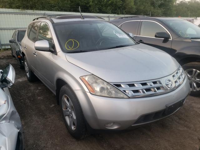 Vehiculos salvage en venta de Copart Pekin, IL: 2005 Nissan Murano SL