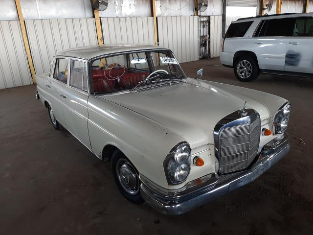 Salvage cars for sale from Copart Phoenix, AZ: 1963 Mercedes-Benz 220 S