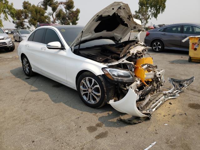 Vehiculos salvage en venta de Copart Martinez, CA: 2016 Mercedes-Benz C300