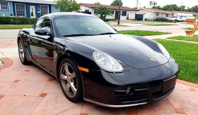 Porsche salvage cars for sale: 2006 Porsche Cayman S