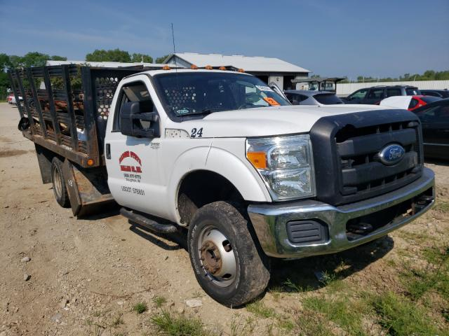 Salvage cars for sale from Copart Madison, WI: 2011 Ford F350 Super