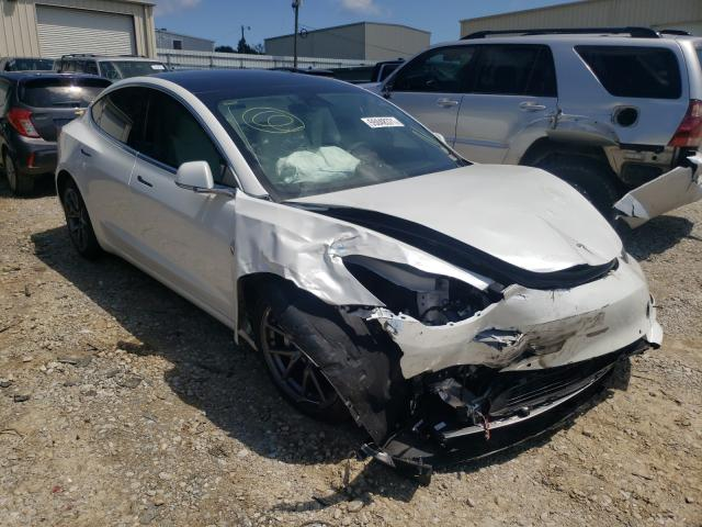 Salvage cars for sale from Copart Gainesville, GA: 2020 Tesla Model 3
