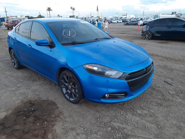 Salvage cars for sale from Copart Phoenix, AZ: 2016 Dodge Dart SXT