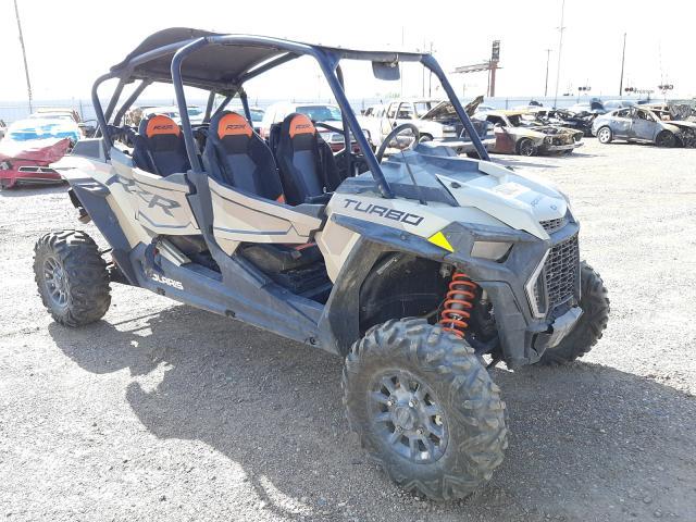 Salvage motorcycles for sale at Phoenix, AZ auction: 2021 Polaris RZR XP 4 T