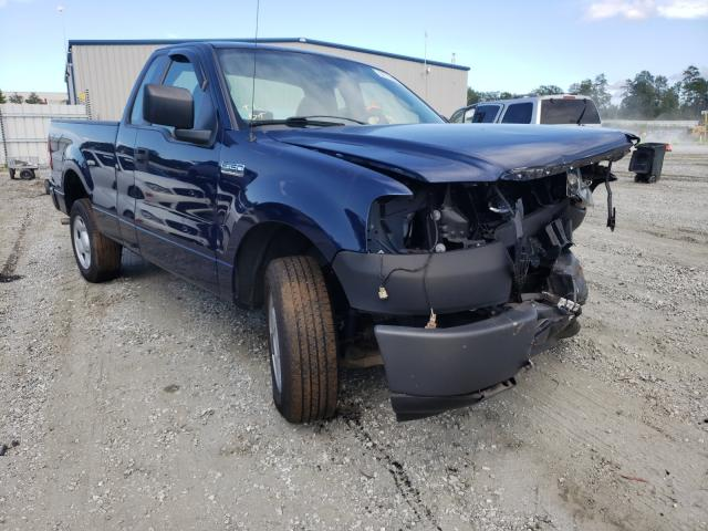 Salvage cars for sale from Copart Spartanburg, SC: 2007 Ford F150
