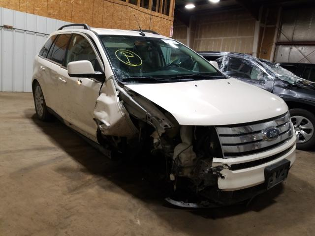 Salvage cars for sale at Anchorage, AK auction: 2008 Ford Edge Limited