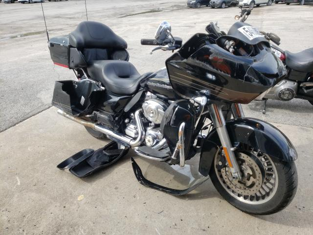 Salvage motorcycles for sale at Ellwood City, PA auction: 2011 Harley-Davidson Fltru