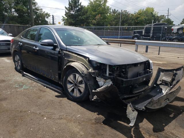 KIA salvage cars for sale: 2017 KIA Optima Hybrid