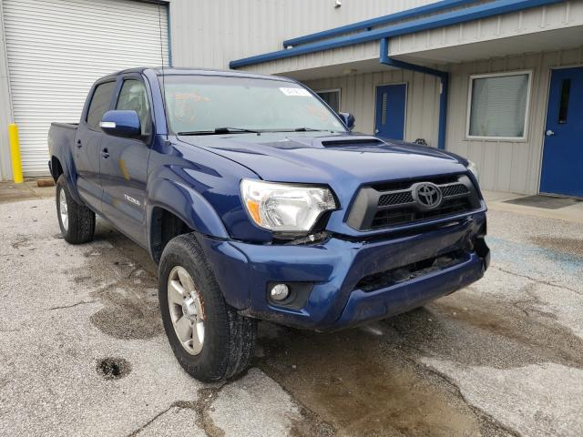 Salvage cars for sale from Copart Hurricane, WV: 2015 Toyota Tacoma DOU
