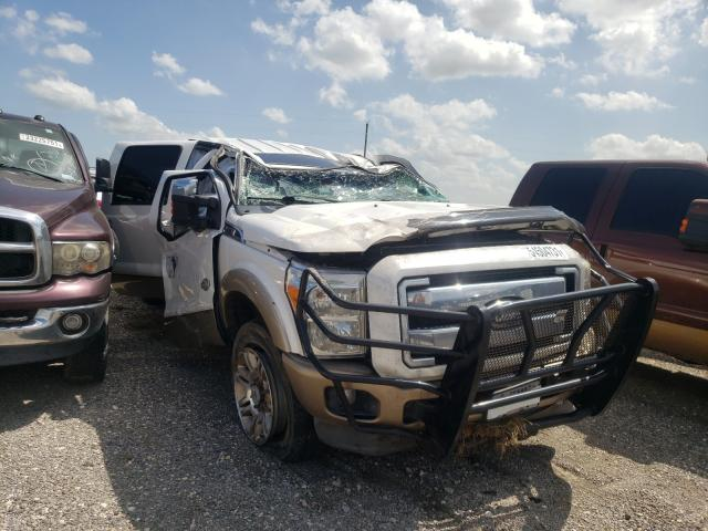 Vehiculos salvage en venta de Copart Houston, TX: 2011 Ford F350 Super