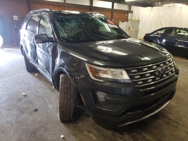 Salvage cars for sale from Copart Ebensburg, PA: 2016 Ford Explorer L