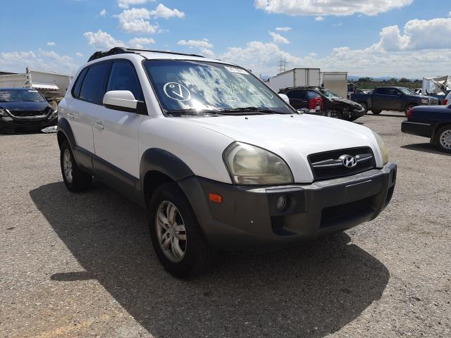 Salvage cars for sale at Tucson, AZ auction: 2008 Hyundai Tucson SE