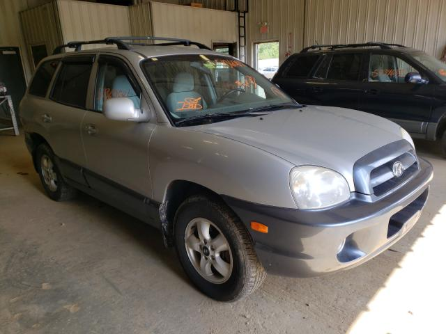 Salvage cars for sale from Copart Lyman, ME: 2005 Hyundai Santa FE G