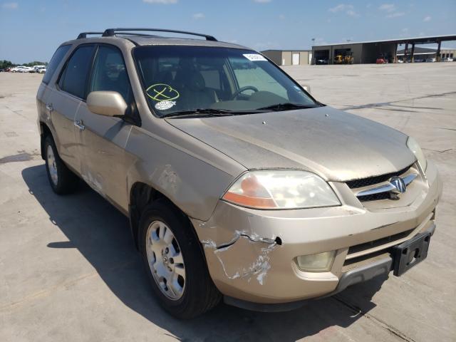 Vehiculos salvage en venta de Copart Wilmer, TX: 2001 Acura MDX