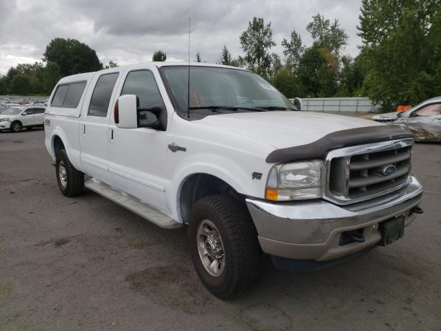 Salvage cars for sale from Copart Portland, OR: 2003 Ford F250 Super