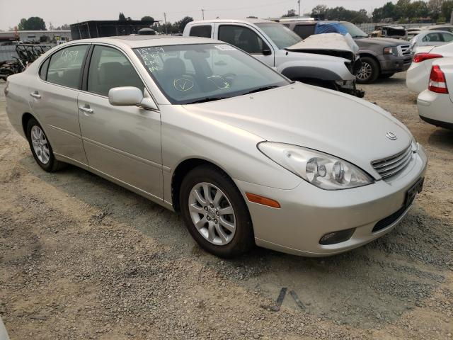 Salvage cars for sale from Copart Antelope, CA: 2004 Lexus ES 330