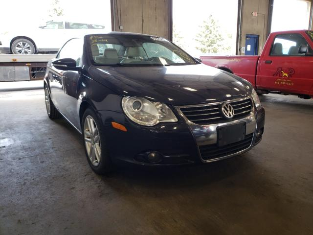 Salvage cars for sale from Copart Blaine, MN: 2011 Volkswagen EOS LUX