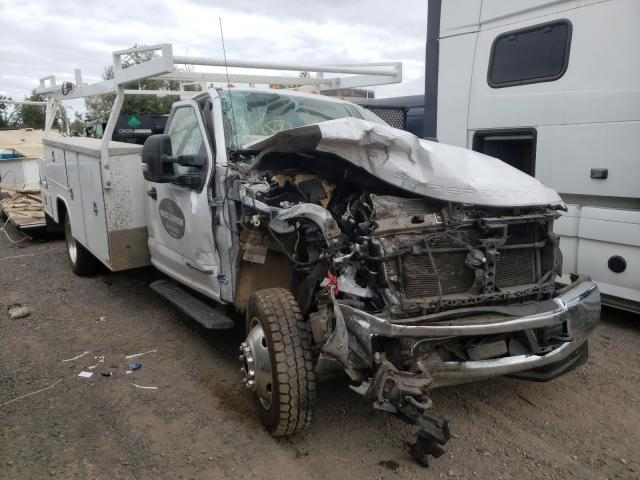 Salvage cars for sale from Copart Woodburn, OR: 2019 Ford F550 Super